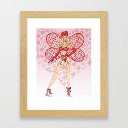 Candice S - Calendar Girls Framed Art Print