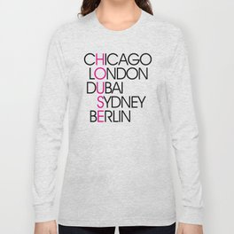 Worldwide House EDM Quote Long Sleeve T-shirt