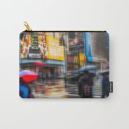 Rainy day in New York City Carry-All Pouch