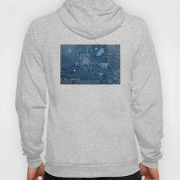 Electronic circuit board Hoody