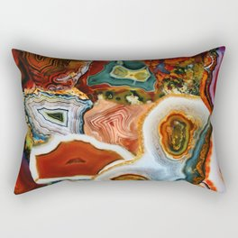 The Earth for the all-pervading Skies, the Moon and the Sun Rectangular Pillow