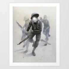Soldiers Art Print