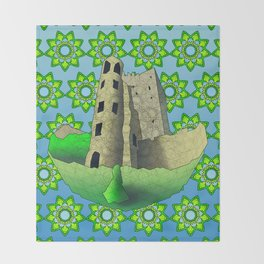 Blarney Castle Throw Blanket