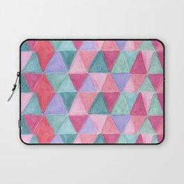 pastel triangle pattern Laptop Sleeve