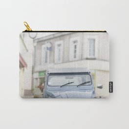 Blue car Carry-All Pouch