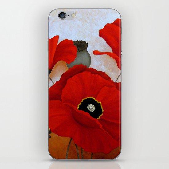 POPPIES II iPhone & iPod Skin