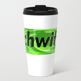 Schwifty black Travel Mug