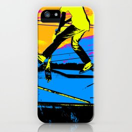 """Air Walking""  - Stunt Scooter iPhone Case"