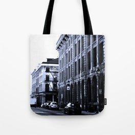 Street - Blue Tote Bag