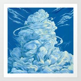 Clouds #14 Art Print