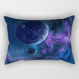 Deep purple space Rectangular Pillow