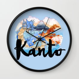 Kanto Wall Clock