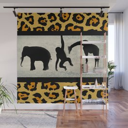Animals on Parade Wall Mural