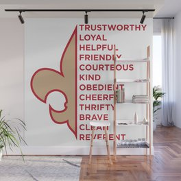 Scout Law Wall Mural