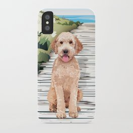 Doodle at the Beach iPhone Case