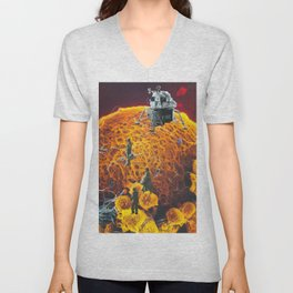 Journey to my own center  Unisex V-Neck