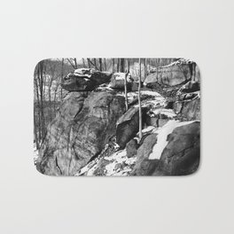 A winter hike in Athens Bath Mat