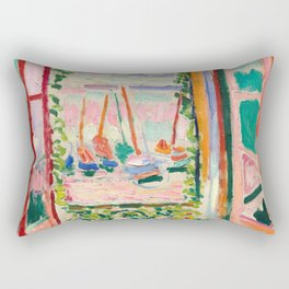 Henri Matisse The Open Window Rectangular Pillow