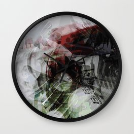 Light and colors Wall Clock