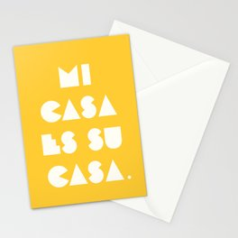 mi casa es su casa. Stationery Cards