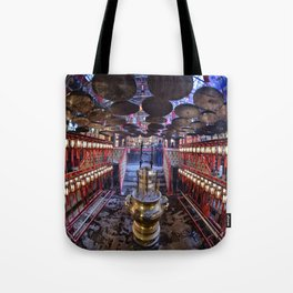 The Oriental Boudhist Temple Tote Bag