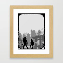 The Last of Us : Limbo edition Framed Art Print