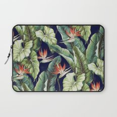 Night tropical garden II Laptop Sleeve