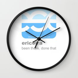 logo ese b Wall Clock