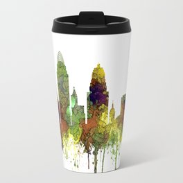 Cincinnati, Ohio Skyline SG- Safari Buff Travel Mug