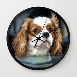 Hello Mr Doggy  Wall Clock