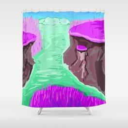 Magical land Shower Curtain