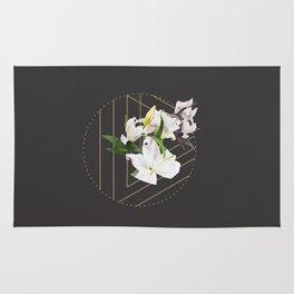 Tropical Flowers & Geometry III Rug