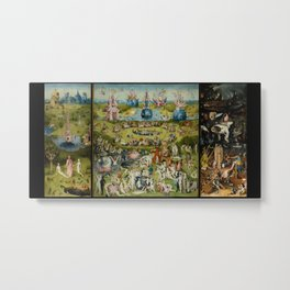 The Garden Of Earthly Delights (Extreme High Quality) Metal Print