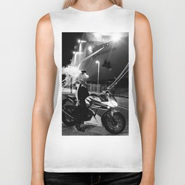 The Ships and The Smoke Biker Tank