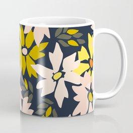 Garden time – bold floral pattern Coffee Mug