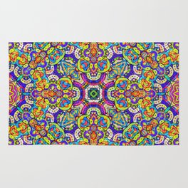 Arabesque kaleidoscopic Mosaic G520 Rug
