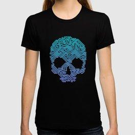 Labyrinthine Skull - Neon T-shirt