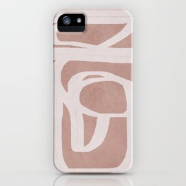 Abstract Flow IV iPhone Case