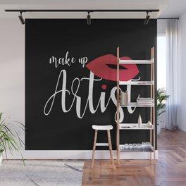 Make Up Artsit Wall Mural