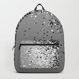 Sparkling Silver Gray Lady Glitter #1 #shiny #decor #art #society6 Backpack