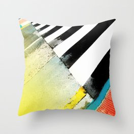 Urban Street Art Painting Throw Pillow