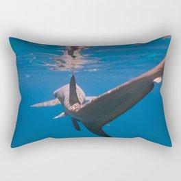Chasing Tail Rectangular Pillow