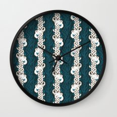 Cool Octopus Reef Wall Clock