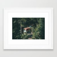 ford Framed Art Prints featuring Ford by danotis