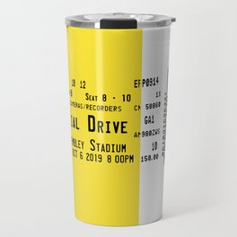 Concert Ticket Stub - Dial Drive Travel Mug