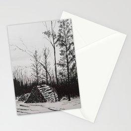 Winter Woodlot Stationery Cards