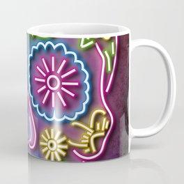 Neon skull Coffee Mug