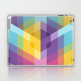 Fig. 024 Hexagon shapes Laptop & iPad Skin