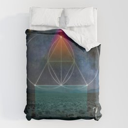 Drink the Sea Duvet Cover