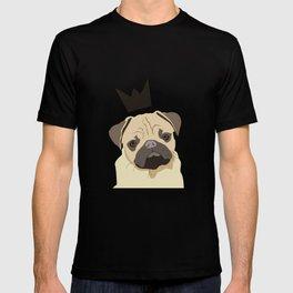 Royal pug T-shirt